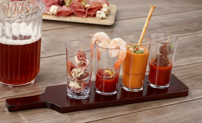 appetizer-taster-with-plastic-mini-pint-glasses.jpg