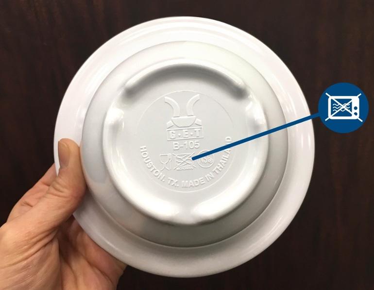 Do Not Microwave Melamine Jpg
