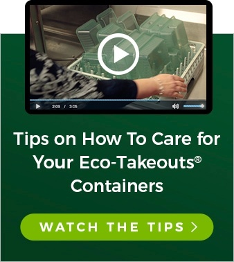 Tips on How To Care for Your Eco-Takeouts Containers