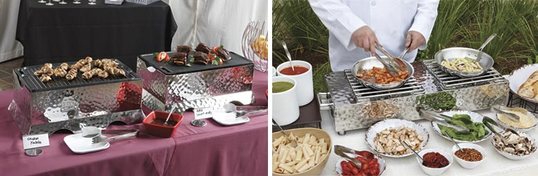 Best Action Station Setups, Heat Sources, and Cooktops for Catering