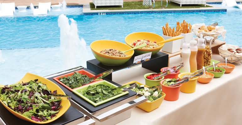 Photos: Best Poolside & Patio Creative Serveware Ideas for Hospitality