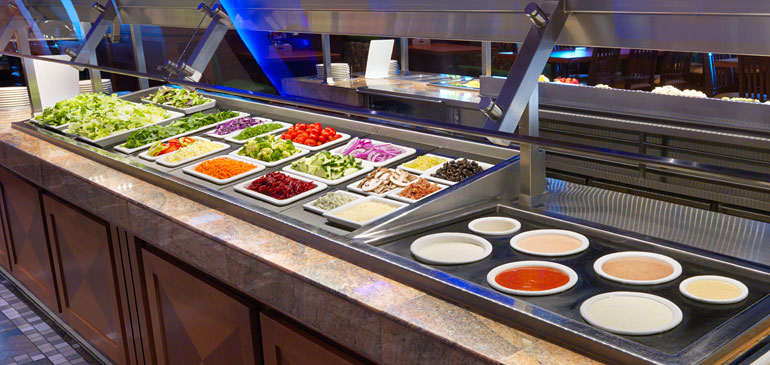 Bugambilia® Cold Bar Systems for Foodservice: Tiles vs. Fit Perfect™