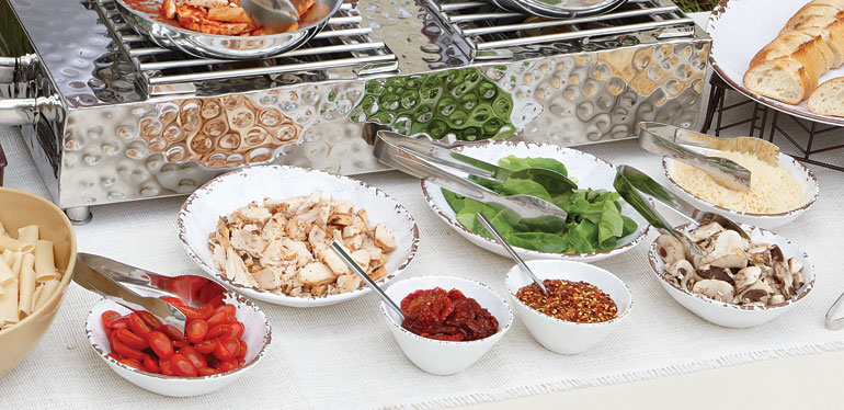 How Caterers Can Add 66% to Rental Profits Simply by Switching Plateware