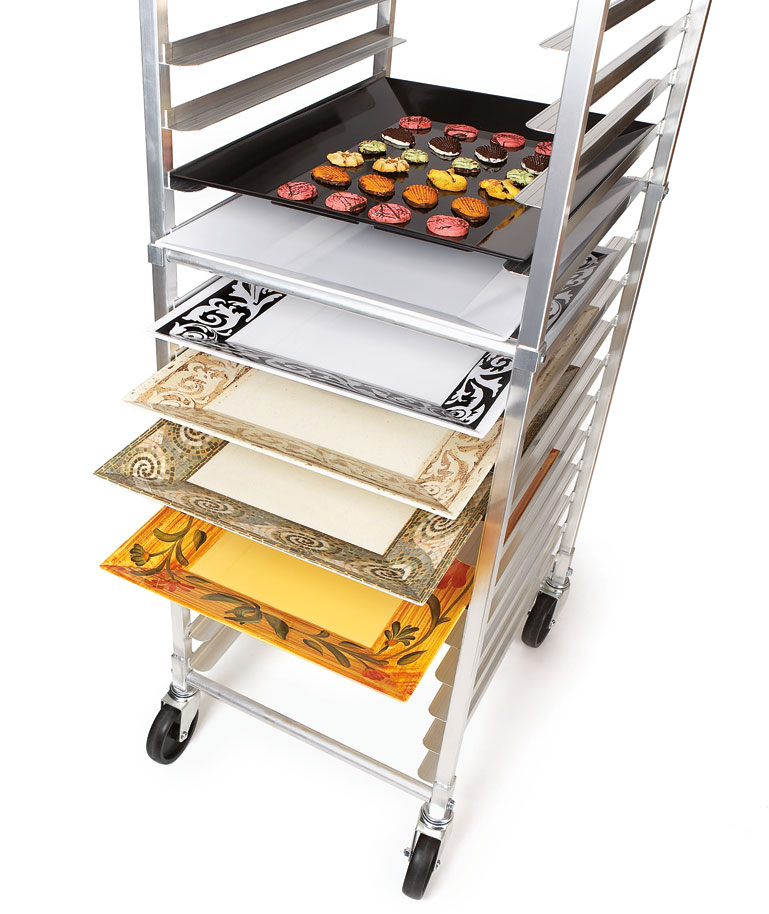 Take Your Catering from Speed Rack to Service in Seconds with Melamine Trays