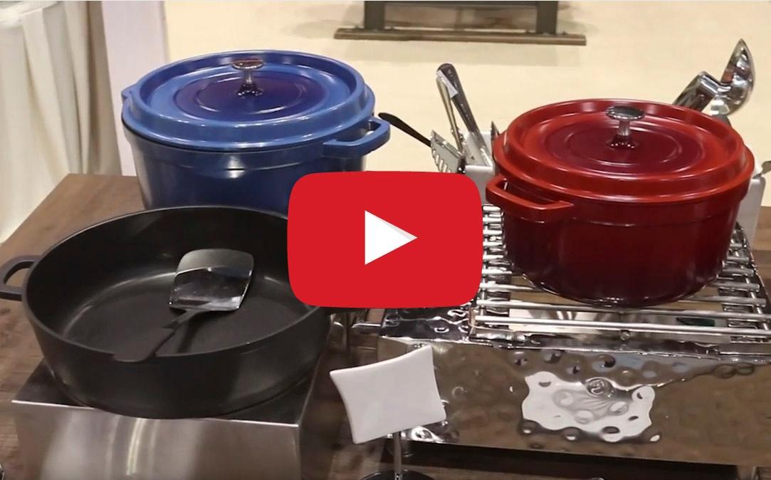 Enamel Cast Iron vs Induction-Ready Cast Aluminum Cookware