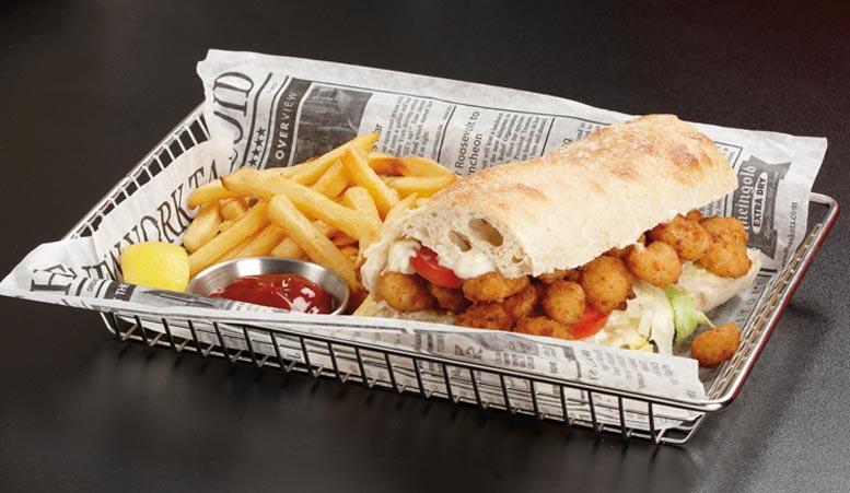 Best Food-Safe Paper for Sandwich Wraps & Basket Liners