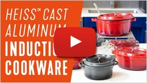 Introducing Heiss Aluminum Induction Cookware