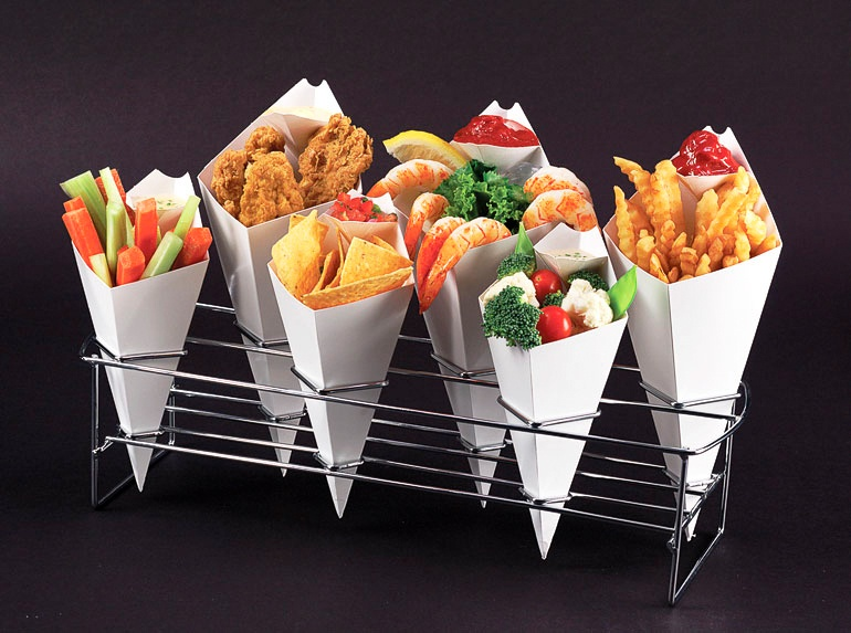 4 Reasons Caterers, Mobile Foodservice Operators Adore Takeaway Cones